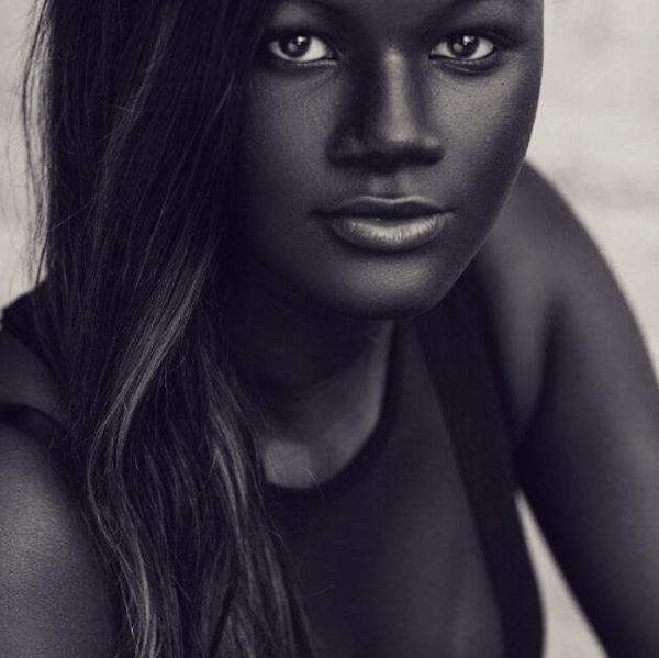 Khoudia Diop and her beauty