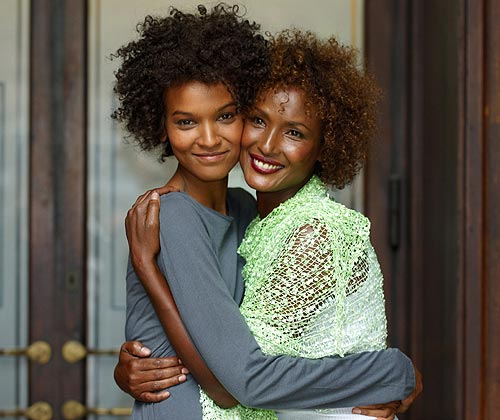 Desert Flower: Liya Kebede and Waris Dirie