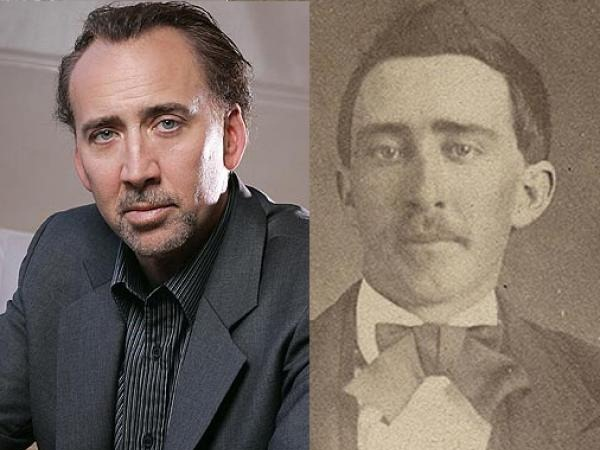 John Travolta and Nicholas Cage