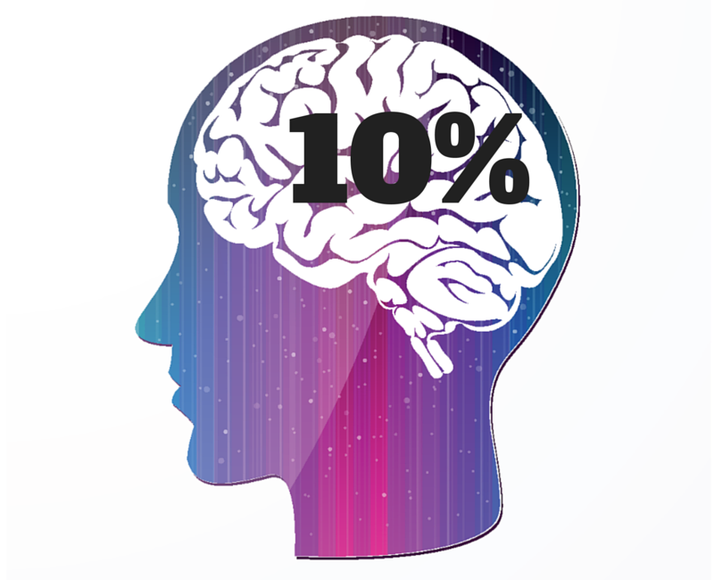 LIE: We only use 10% of the brain