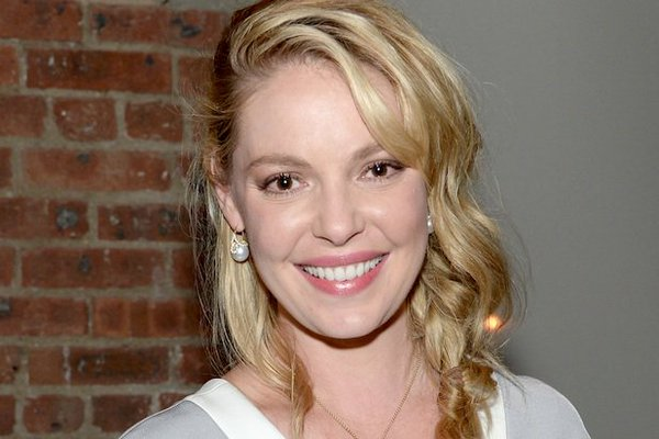 Katherine Heigl, a big promise to the filming world or not...