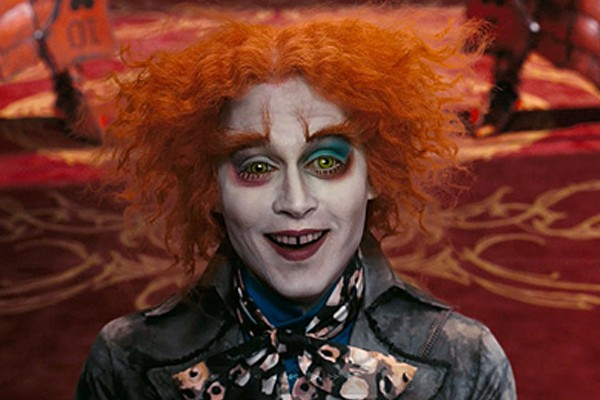 Johnny Depp is afraid of the clowns