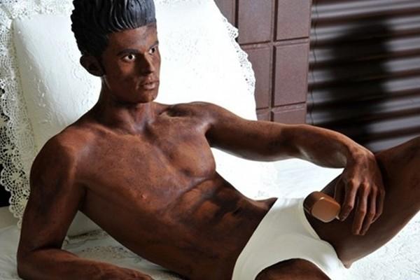 The chocolate man