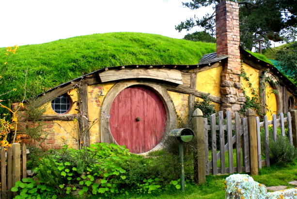 The Hobbit's house in the movie