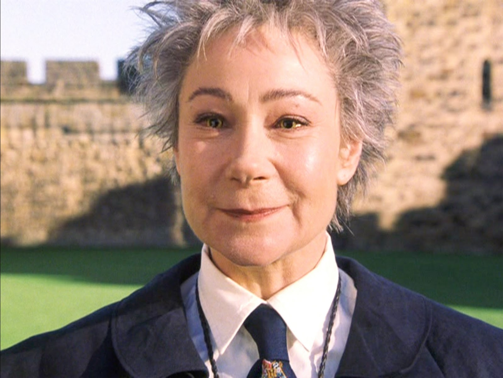 Zoë Wanamaker is behind this lovely character