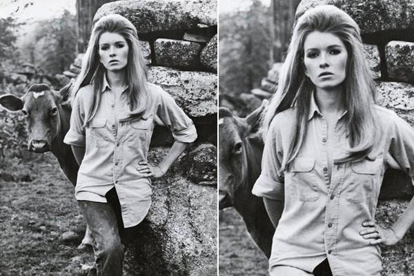 Martha Stewart was a model