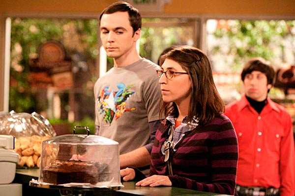 Sheldon Cooper's Girlfriend- Big Bang Theory