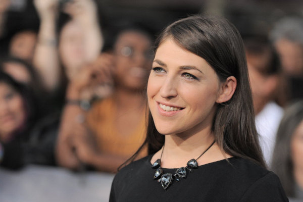 Mayim Bialik is the woman behind the nerdy character