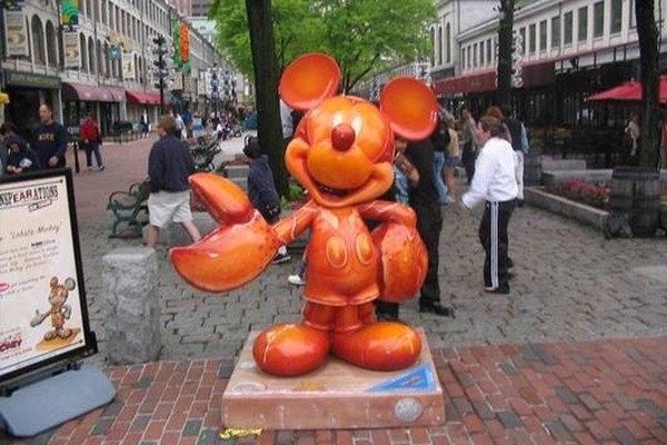 Lobster Mickey Mouse