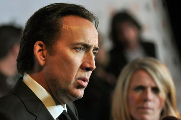 Nicolas Cage as Ghost Rider