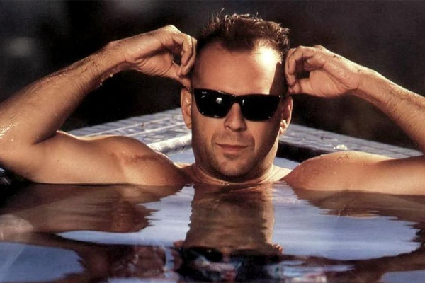 Bruce Willis in his golden years