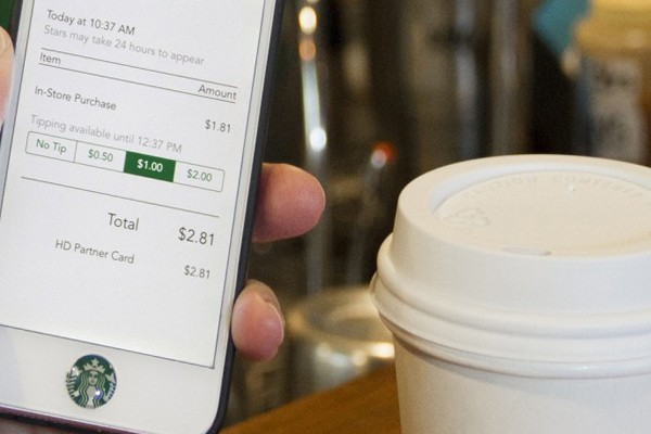 Starbucks has an app