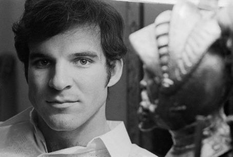 The handsome Steve Martin