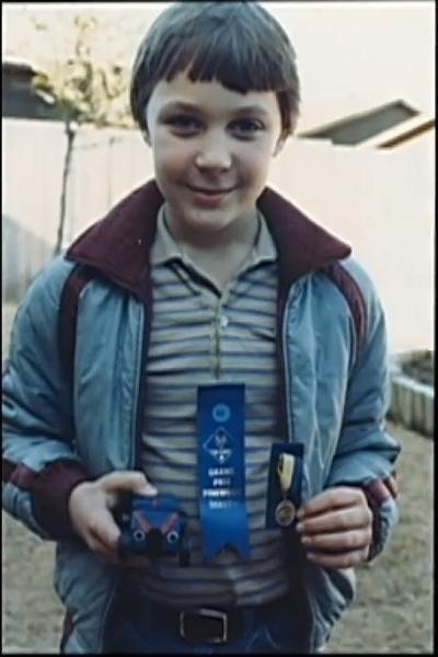 Jim Parsons (Sheldon) at the age of 10
