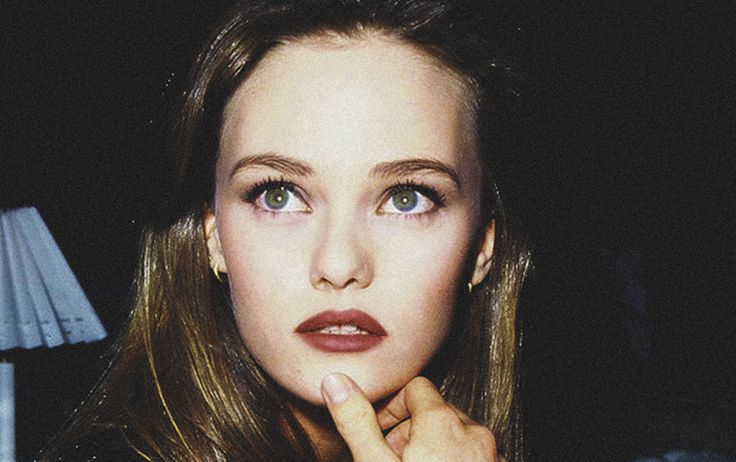 Vanessa Paradis when she was younger
