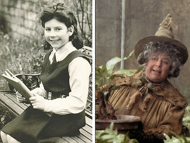 Miriam Margolyes gives life to Pomona Sprout