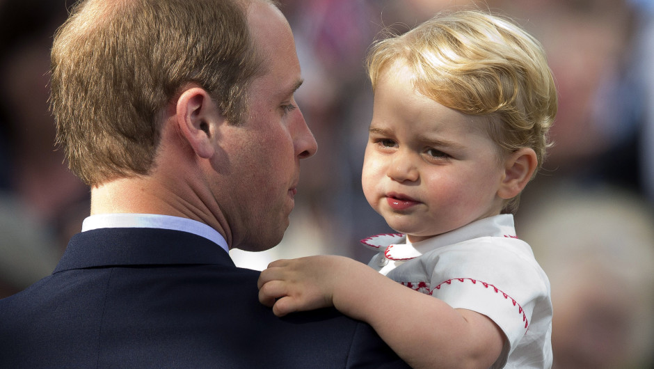 Prince George - Son of Prince William and Kate Middletone