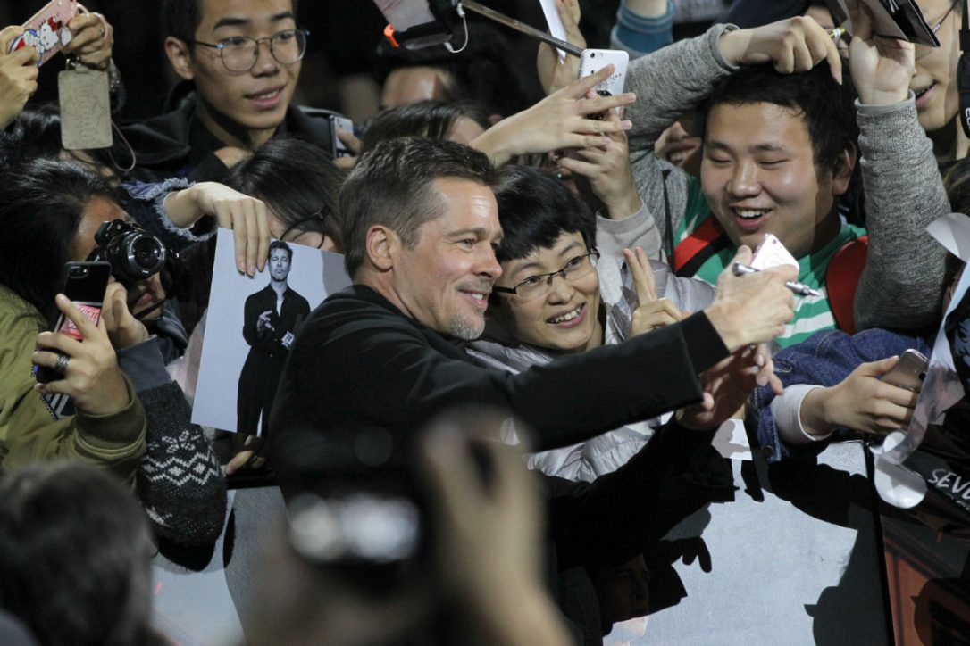 Brad Pitt is not very welcome in China