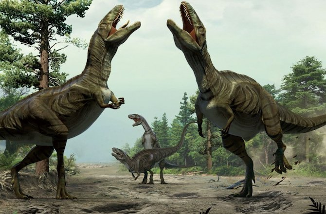 ¿Did you know the dinosaurs danced?