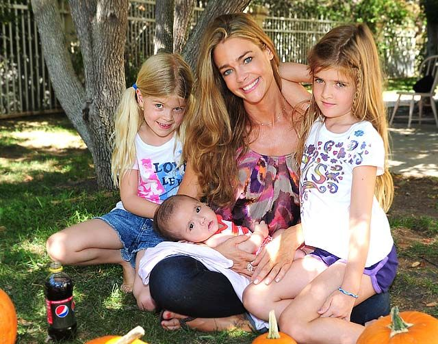 Denise Richards added a member to the family