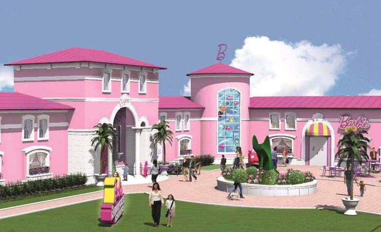 There are several versions of the Barbie mansion