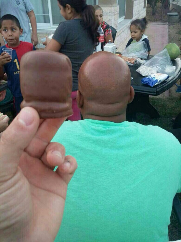 Chocolate covered Marshmallow?