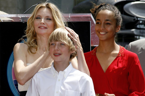 Michelle Pfeiffer and her gorgeous daughter Claudia Rose