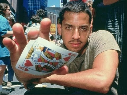 David Blaine levitation