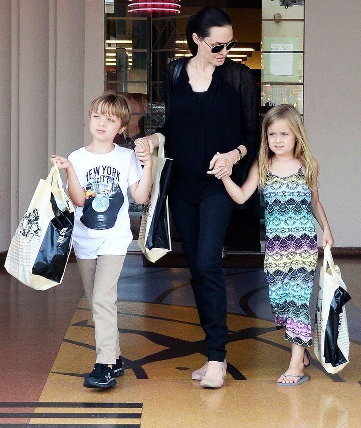 Knox and Vivienne Jolie-Pitt - Children of Angelina Jolie and Brad Pitt