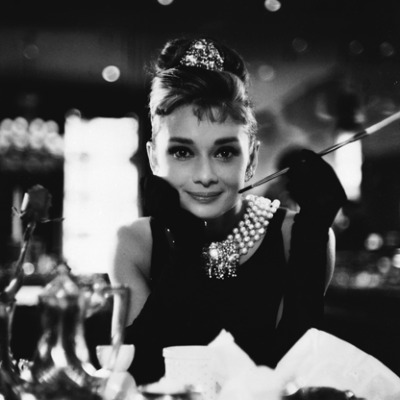 Actress and humanitarian Audrey Hepburn