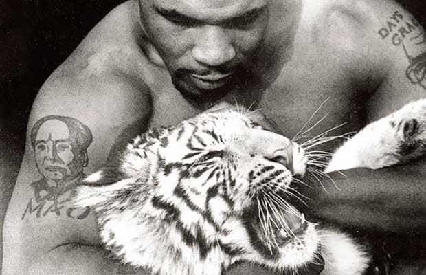 The white tiger of Mike Tyson