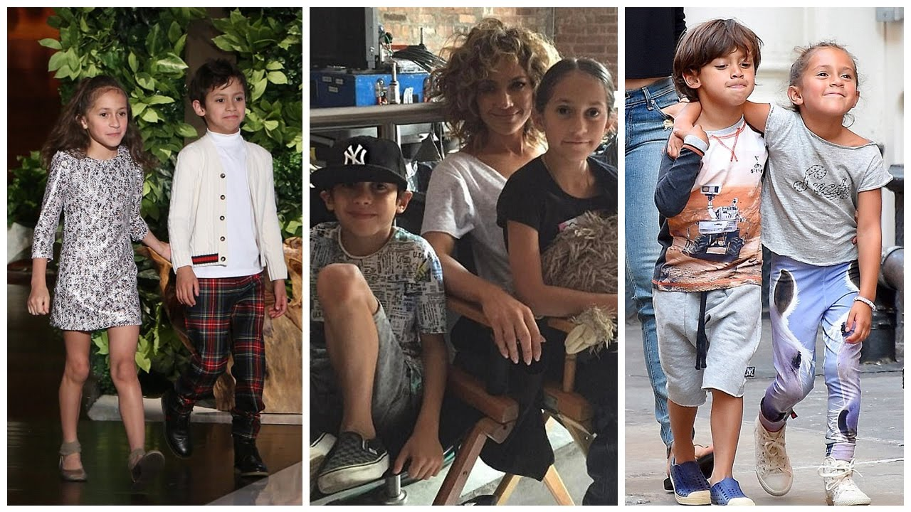 Emme and Max Muñiz - Children of J.LO and Marc Anthony