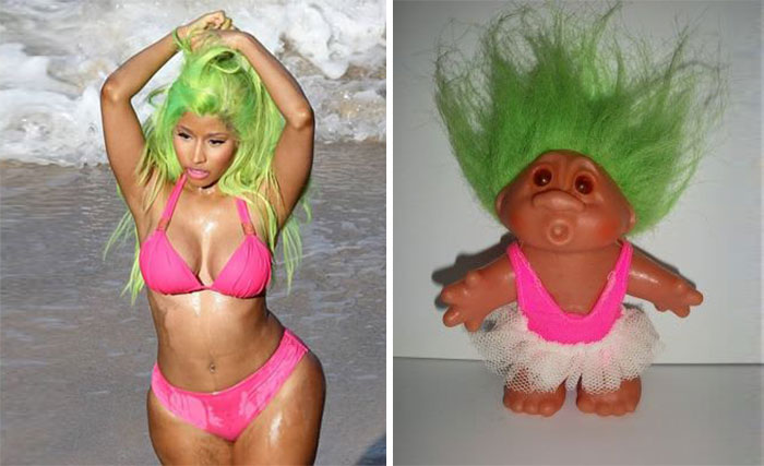 Nicki Minaj and a Troll