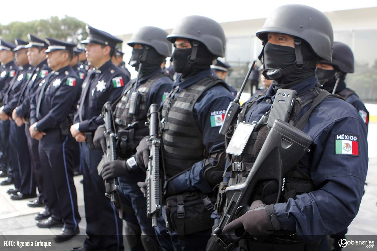 Being a policeman in Mexico