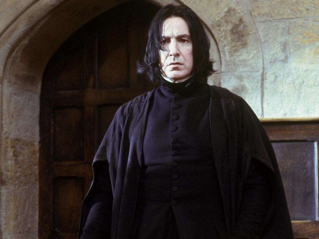 Alan Rickman is Snape