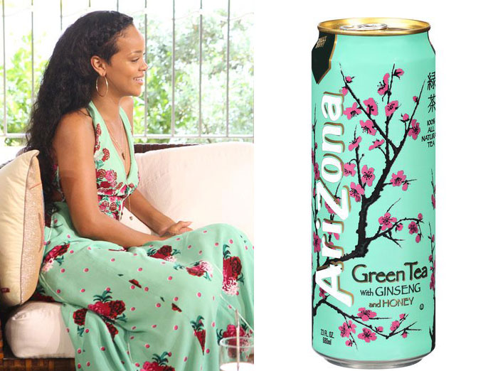 Rihanna and an Arizona tea?