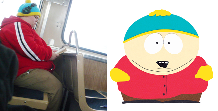 Eric Cartman and this man