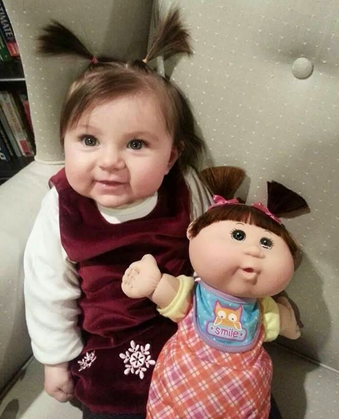 Baby vs. Cabbage Patch Kids