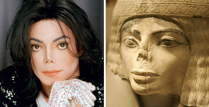 Michael Jackson Egyptian twin