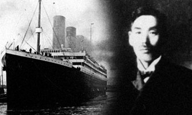 TITANIC: The Japanese survivor was considered a coward