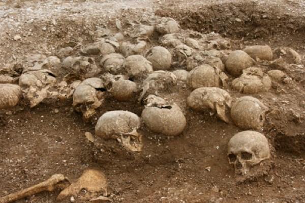 Ridgeway Hill Viking burial pit