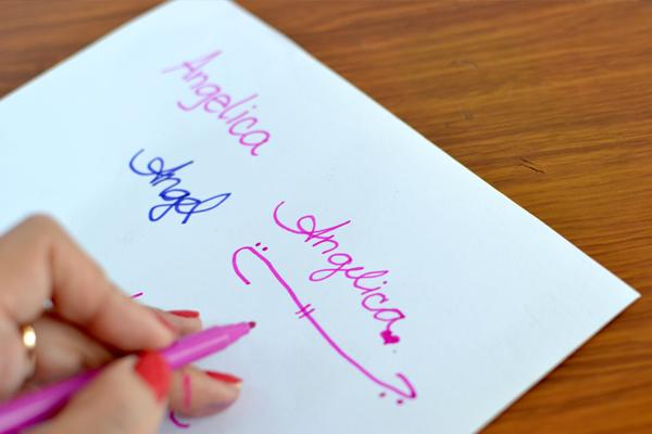 Draw signatures