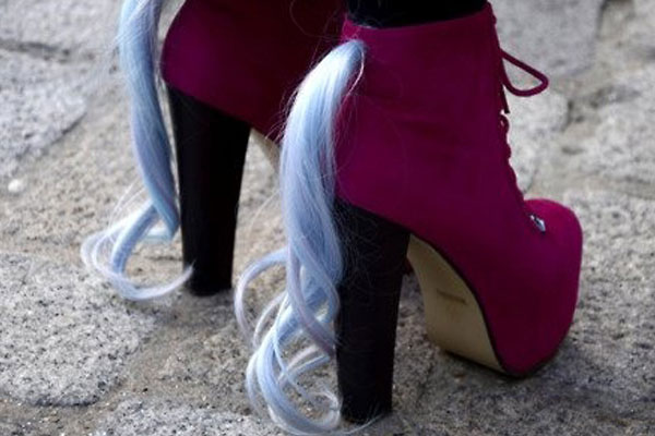 Ponytail shoes