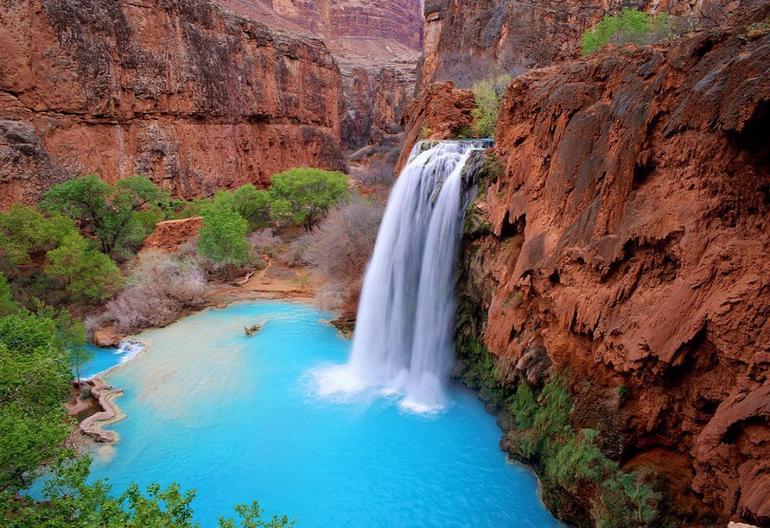 Havasupai Falls Arizona, Arizona, USA