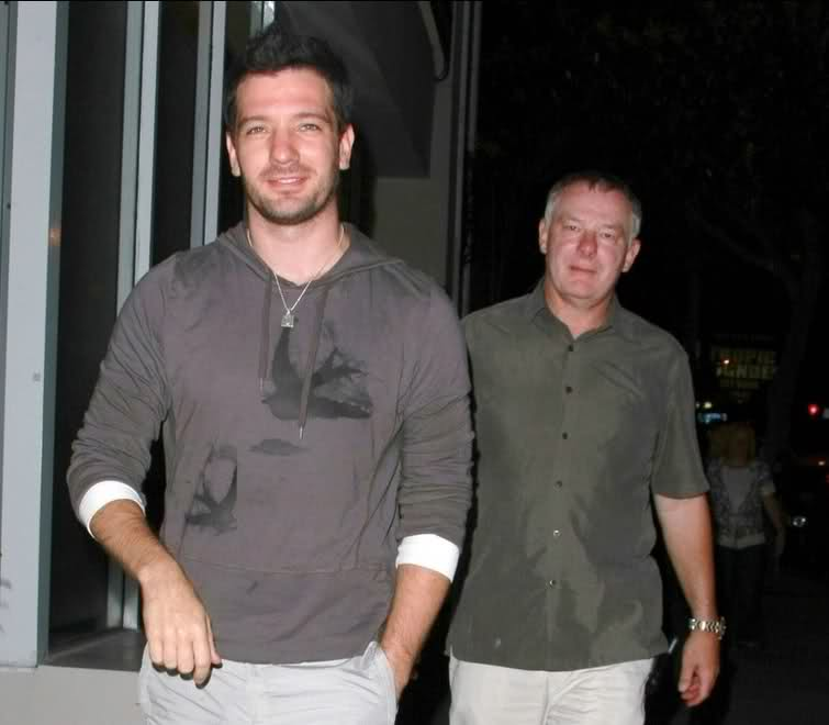 JC Chasez (Nsync) and his adoptive father