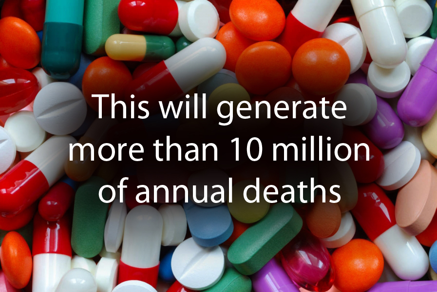 This will generate more than 10 million of annual deaths