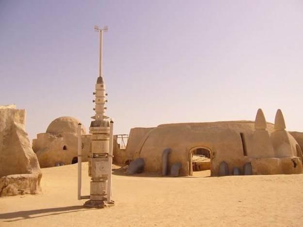The Tatooine planet