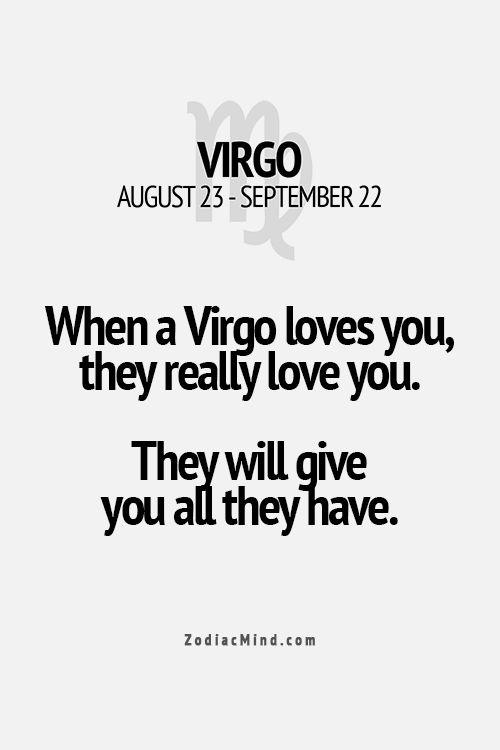 Let's talk about Virgo