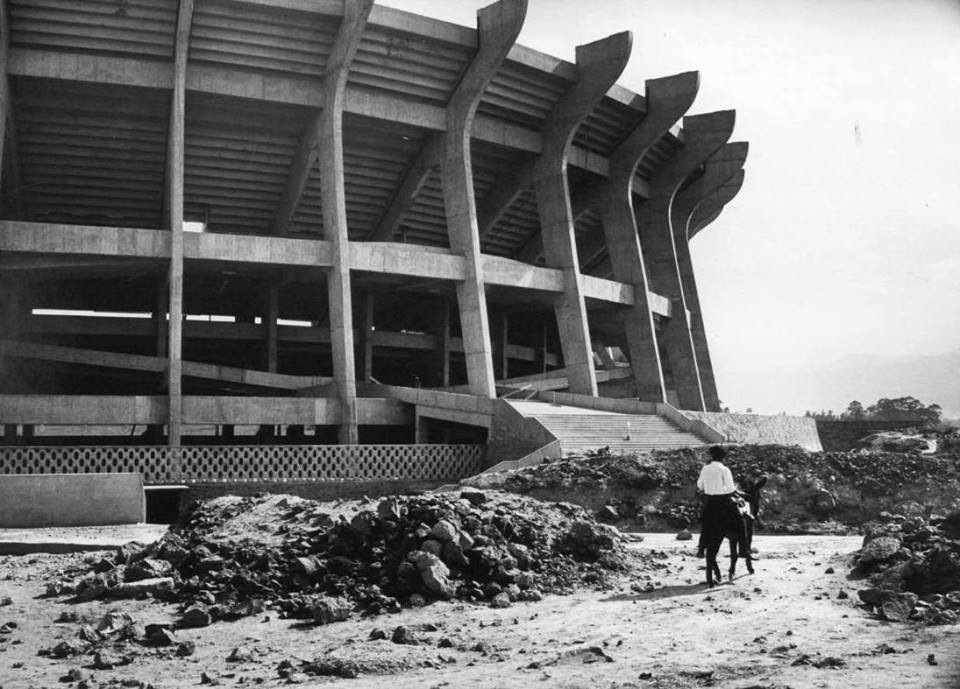Azteca Stadium under construction under construction