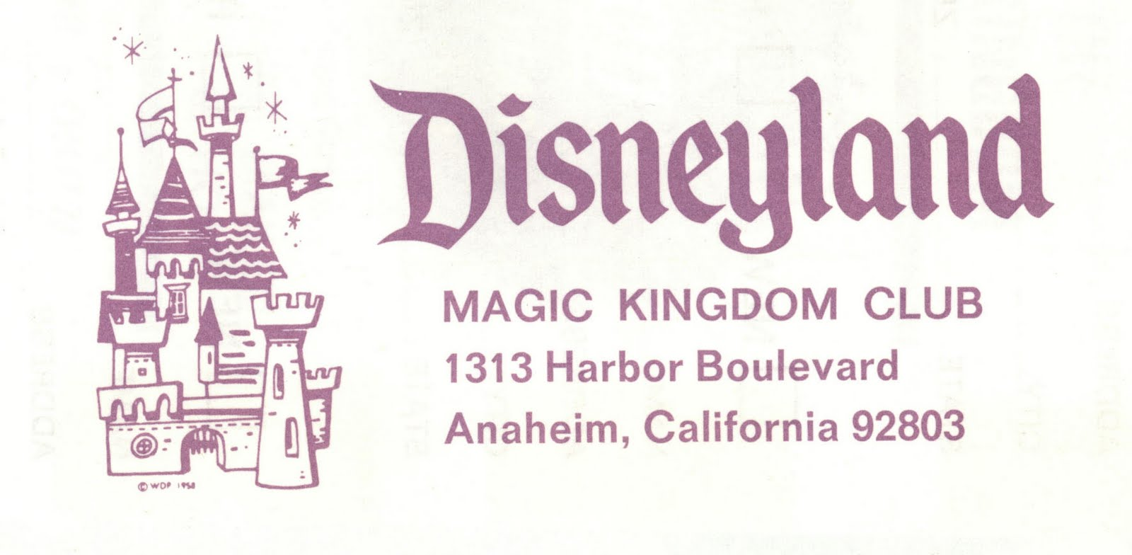 Walt chose Disney's 1313 address in honor of Mickey